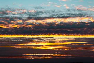 Sunset over Chesterton