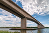 Orwell Bridge (Chris Elmy) Tags: nikon d300 tokina 1116mm wide angle orwell bridge cloud sky landscape architecture