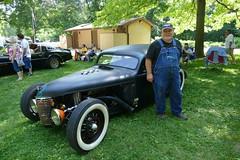 Big Daddy Mike Lawrence HotRod (bballchico) Tags: hotrod ratrod sedan custom pinstripe fathersdaycarshow carshow sectioned chopped
