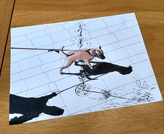 Last one of my shadow preliminary sketches (GP1805) Tags: artwork art artist inkdrawing ink draw drawings drawing derwent winsorandnewton fabercastell italy lidodijesolo sketches sketch pencil