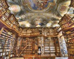 Bibliothek, Stift Sankt Florian (Explored) (Runemaker) Tags: library bibliothek books bücher abbey stift sanktflorian stflorian saintflorian austria österreich architecture architektur