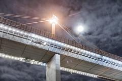 (Murdoch80) Tags: concretebridge westgatebridge bridge bridgephotography longexposure nighttime timelapse overpass australia d600 melbourne murdoch80 melb motionblur nikon nikond600 night victoria clouds