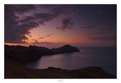 All over the Place (Max Angelsburger) Tags: madeira island atlantic ocean panoramic summer seascape silent great weather morning calm cliffs tides elements wind clouds colorful fishfarm arch volcanic