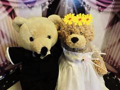 National Bridal Sale Day (marilyntunaitis) Tags: plush stuffedanimals bride groom
