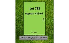 Lot 722, 13 Atherton Way, Werribee VIC
