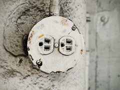 Plug Me In (Orbmiser) Tags: mzuikoed1240mmf28pro 43rds em1 mirrorless olympus ore portland m43rds electric plug ac socket