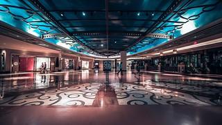 Fabulous Ceilings of Venetian Hotel. Las Vegas NV