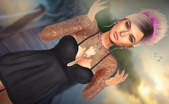 .. sometimes it´s not that easy .. (Pocahontas Kowalsky) Tags: sense event zara kent fabia mesh hair aurica ghost fortuna jewellery amara beauty slackgirl cosmopolitan