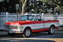 1972 Chevy C-10 Pickup (robtm2010) Tags: mystic connecticut usa newengland canon canont3i t3i truck pickup chevrolet chevy gm generalmotors motorvehicle vehicle 1972 c10
