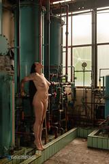 IMGP5454 (Carismarkus) Tags: abandonedplace beautyindecay industry lostplace lyssa powerplantpeppermint urbanexploration female industrial nude sensual woman