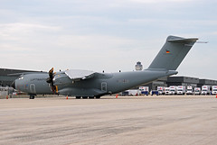 A400.54+15 (Airliners) Tags: luftwaffe germanaf germanairforce a400 airbus airbusa400 military iad 5415 62418