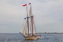 Schooner Heritage (Me in ME) Tags: boothbayharbor maine ships windjammer schooner heritage windjammerdays ocean ship sails omot