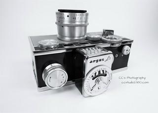 Argus C3 35mm Film Camera - 1963