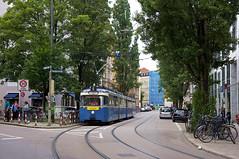 P-Zug 2006/3039 kurz vor dem Isartor (Frederik Buchleitner) Tags: 2006 3039 fahrschule fahrschulfahrt liniee munich münchen pwagen strasenbahn streetcar tram trambahn