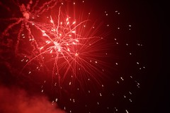 Happy 4th! (Gleich Photography) Tags: nikond810 fireworks red smoke 4th july