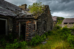 Barracks, Pen yr Orsedd (Rogpow) Tags: nantlle penyrorseddquarry slatequarry wales yfron quarry slate building ruin abandoned derelict decay disused dilapidated industrialhistory industrialarchaeology industrial industry barracks fujifilm fuji fujixpro2 overgrown snowdonia northwales penyrorsedd