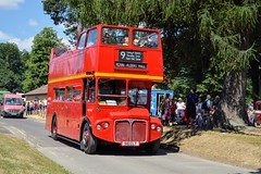 RMC1510 510CLT (PD3.) Tags: london transport aec routemaster open top topper topless bus buses psv pcv hampshire hants england uk alton anstey park mid railway watercressline water cress line preserved vintage 15 07 2018 july rally running day