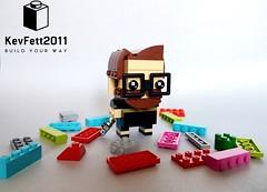 Go Brick Me - KevHeadz2011 (KevFett2011) Tags: kevfett2011 lego art bricks brickheadz brick me myself glasses 2018 head go set edit beard