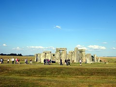 Stonhenge from the west side (markhorrell) Tags: britain walking stonehenge wiltshire antiquities