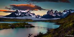 Hidden Gem (Doreen Bequary) Tags: nikon1034f345 glacierlake chile patagonia d500 hotelpehoe lakepehoe landscape moountain sunrise