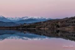 Crepusculo (Yaco1959) Tags: cellers crepusculo pirineo nieve paisaje pallars jussa puestadesol invierno reflejos
