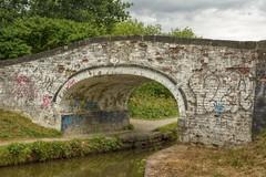 Bridge27 (Tony Tooth) Tags: nikon d7100 sigma 1750mm bridge canal canalbridge whitewash brick caldoncanal bridge27 endon staffs staffordshire