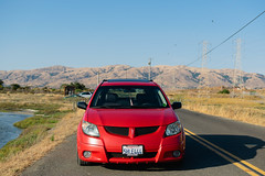 DSC_0768 (jaytotheveezy) Tags: pontiac vibe base lava red 1zz work crkai kiwami ultimate bcracing coilovers toyo tires genvibe