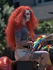 Redhead Wigging Out (Scott 97006) Tags: guy crossdressed wig tattoos parade spectacle lgbt flamboyant makeup