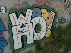 WOOHOO (mkorsakov) Tags: dortmund city innenstadt graffiti woohoo kpc bunt colored wand wall