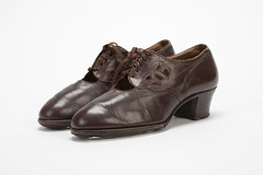 F10 (Art & Design Librarian) Tags: to do shoes 1930s 1940s churchs leather brown middlesex uiversity fahion collection middlesexuniversity fashioncollection