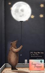 {YD} Sleepy Moon Lamp ({Your Dreams}) Tags: yourdreams newdecoration 100originalmesh lamp moon cute