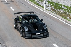 991 GT2 RS (Nico K. Photography) Tags: porsche 991 gt2 rs weissach package black carbon supercars rare nicokphotography switzerland klausenpass