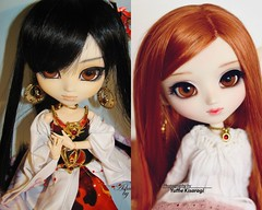2008 vs 2018: Ashura (·Yuffie Kisaragi·) Tags: doll pullip youtsuzu custom poisongirl ashura obitsu rewigged rechipped