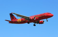 OO-SNA Airbus A320-214 Brussels Airlines Belgian Red Devils livery (R.K.C. Photography) Tags: oosna airbus a320214 aircraft a320 airliners aviation brusselsairlines belgian reddevils sn bel football london england unitedkingdom uk heathrow londonheathrowairport lhr egll canoneos100d