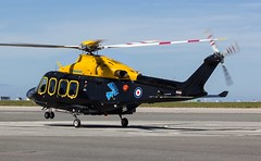 ZR283 Cobham Helicopter Services / RAF DHFS @ Cornwall Airport Newquay, St Mawgan. (PoS Photogaraphy) Tags: zr283 cobham helicopter services raf dhfs cornwall airport newquay st mawgan defence flying school flight chopper avgeek planes airplane airfield rotor touchdown landing wheels