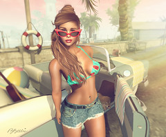 vamos de paseo? (babibellic) Tags: secondlife sl portrait people promagic navyandcooper blogger beauty babigiobellic bento babibellic beach avatar virtual mujer moda fashion