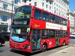 London Central WVL435 (LJ61GWU) - 27-06-18 (peter_b2008) Tags: goaheadgroup londoncentral volvo b9tl wrightbus eclipsegemini2 wvl435 lj61gwu london buses coaches transport buspictures