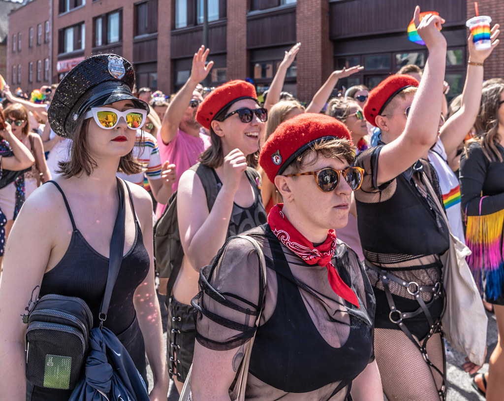 ABOUT SIXTY THOUSAND TOOK PART IN THE DUBLIN LGBTI+ PARADE TODAY[ SATURDAY 30 JUNE 2018] X-100237