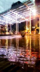 Director Park on a Saturday night. (PDXJohnny99 aka Gnarly Kaufman) Tags: downtownportland directorpark waterfountain teachersfountain pdx pdxjohnny99 portlandia pacificnorthwest pnw 503 urbansculptures urbanphotography urban citylife city cityofroses