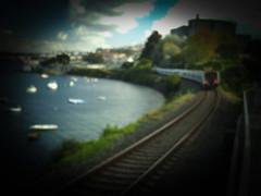 Sueño (My Buffo XP) Tags: vía tren train desenfoque blur galicia coruña