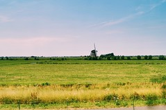 From Schiphol to Rotterdam (qqazwws18) Tags: windmill countryside taiwan sonya6000 sony train traintrip rotterdam netherlands holland travel