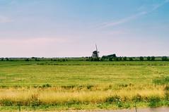 From Schiphol to Rotterdam (qqazwws18) Tags: windmill countryside taiwan sonya6000 sony train traintrip rotterdam netherlands holland travel