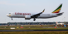 Ethiopian Airlines 737 Max 8 ET-AVM (megatroncox) Tags: ethiopian airlines boeing b737m8 b737 max8 max addis ababa dublin airport seattle field everett delivery landing photography airplane aircraft winglet scimatar tail ethiopia