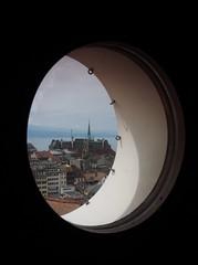 View from the MUDAC over Lausanne (M_Strasser) Tags: mudac lausanne olympusomdem1 olympus schweiz switzerland suisse svizzera