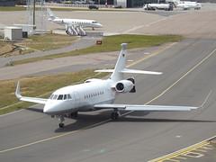 D-BONN Dassault Falcon-2000EX EASy Private (Aircaft @ Gloucestershire Airport By James) Tags: luton airport dbonn dassault falcon2000ex easy private bizjet eggw james lloyds