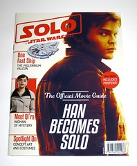 solo a star wars story the official movie guide magazine published in 2018 by hardie grant egmont for disney publishing worldwide (tjparkside) Tags: han solo star wars story official movie guide magazine 2018 qira qi ra chewbacca lando calrissian millennium falcon includes posters poster disney publishing worldwide hardie grant egmont lucasfilm australia published by for