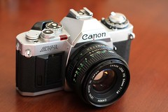 Canon AV-1 (Claudio Arriens) Tags: canonav1 fd 35mm camera vintage canon film collection coleção máquina