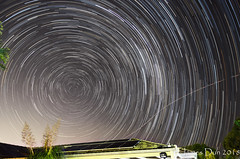 Starry Night (James Dun) Tags: startrails astrophotography astronomy milky way southern cross sky space stars galaxy brisbane queensland australia nikon d7000 composite winter cold night weather