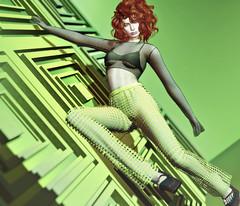 Green With Envy (l í n d α . r є d d є v í l) Tags: visionaire homework rowne lamb seul utopiadesign foxcity poema uber