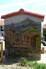 Fresque sur poste EDF (mchub) Tags: posteedf fresque collioure pyrénéesorientales occitanie côtevermeille hx400v languedocroussillon